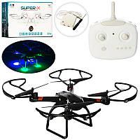 Квадрокоптер 33040 р/управляемый 2,4GHz Sky Drone, гироскоп, свет, USB зарядное