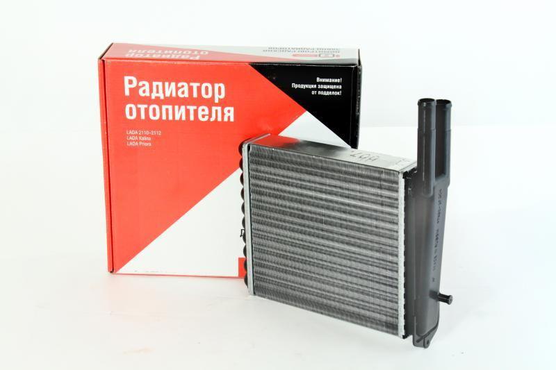 Радиатор отопителя 2110, 2111, 2112, 2170, 2171, 2172 алюминиевый ДААЗ нового образца после 2003г. (печки)