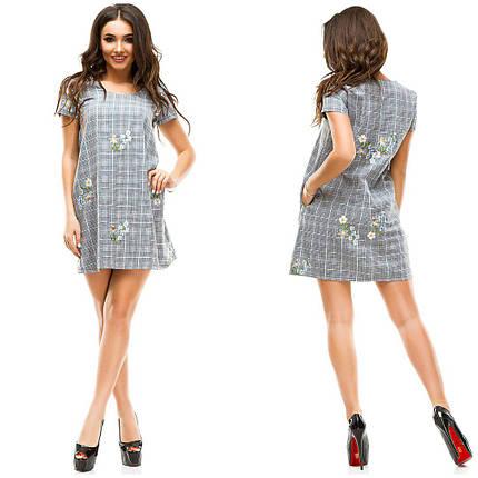 098de4738b791b1 Платье льняное с вышивкой - купить недорого от 540 грн. в Украине ...