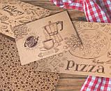 Дизайнерская бумага для меню ресторанов и кафе, фото 5