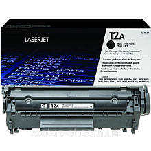 Заправка HP LJ 1015 картридж 12A (Q2612A)