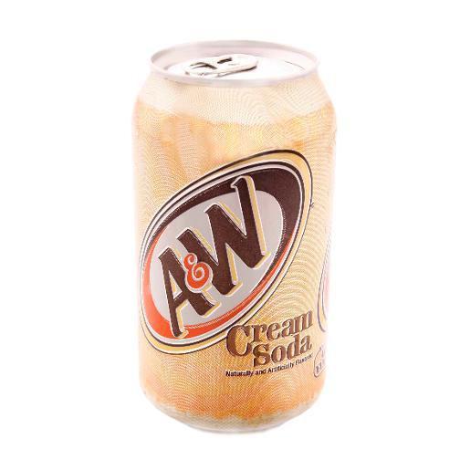 Крем сода A & W Cream Soda 355 ml