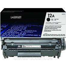 Заправка HP LJ 1018 картридж 12A (Q2612A)