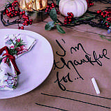 Сет на стіл на крафт папері, порізка листів на формати, фото 3