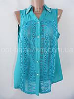 Рубашки женские оптом, полиэстер (M L XL 2XL 3XL норма) купить в Одессе 7 км