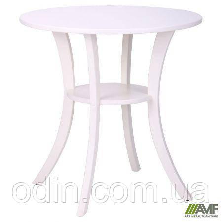 Стол Классик круглый ваниль, ножки ваниль 158537