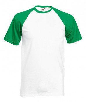 Мужская футболка двухцветная 026-WK-k214 fruit of the loom