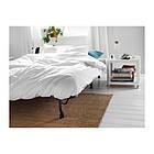 Журнальный стол IKEA TINGBY 50x50 см белый 202.959.30, фото 2