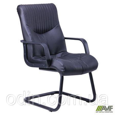 Кресло Геркулес CF Кожа Сплит черная 030735