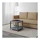 Журнальный стол IKEA TINGBY 50x50 см бирюзовый 103.494.48, фото 5