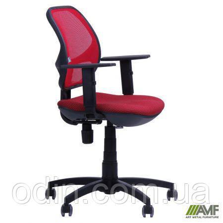 Кресло Квант/Action сиденье Квадро-28/спинка Сетка красная 028980