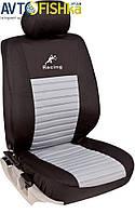 Чехлы на сидения автомобиля MILEX Tango перед серые 2шт (100836)