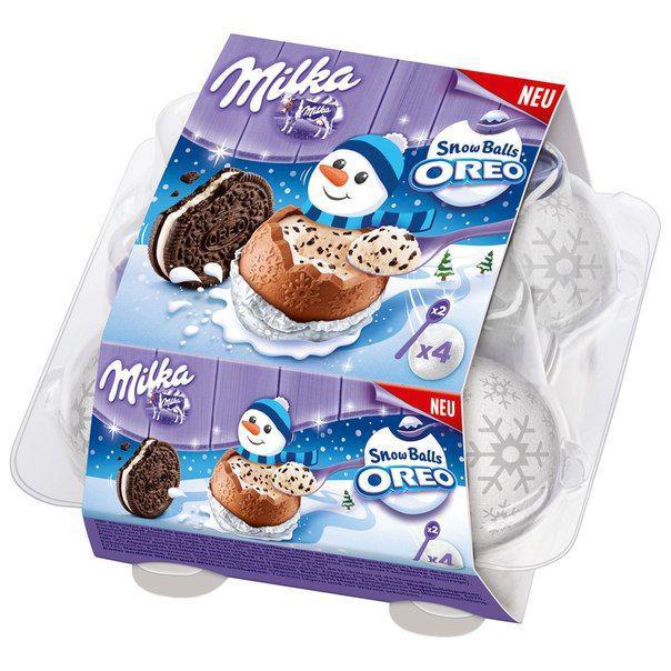 Шоколадные шарики Milka Snow Balls Oreo