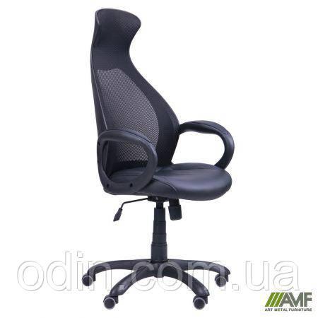 Кресло Cobra черный, сиденье Неаполь N-20/спинка Сетка черная 261761