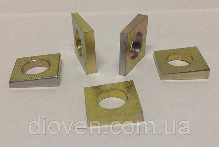 Шайба 16 d=17 mm, косая ГОСТ 10906-78 (квадрат под балансир КРАЗ) (Арт. 345423-П2)