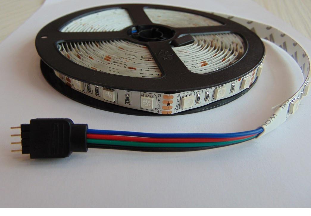 Светодиодная лента LED 5050 60 12V IP33 RGB