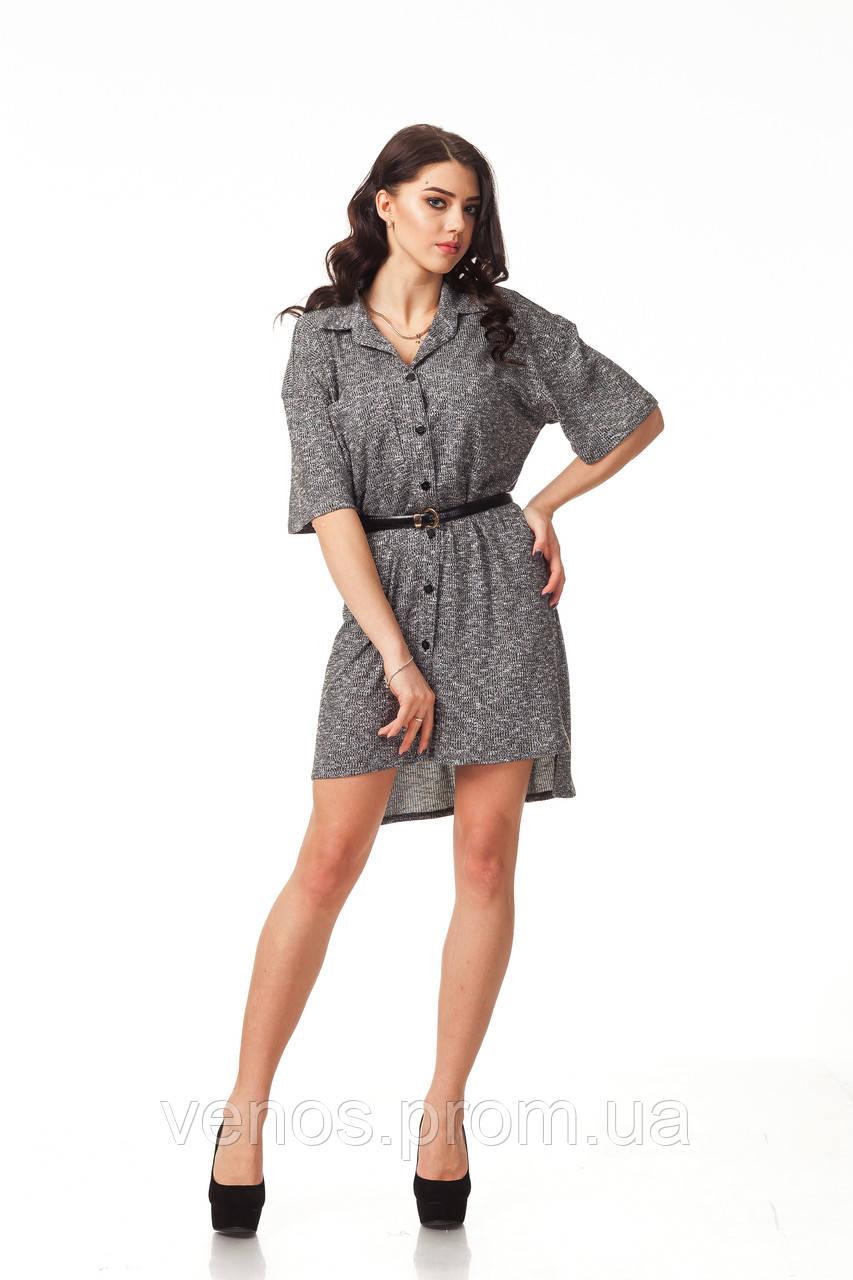 Женское платье рубашка. П114