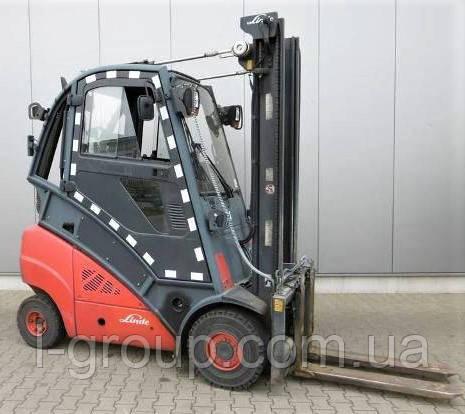 Дизельний навантажувач Linde H30D0, 3 т, 4.35 м, 2012