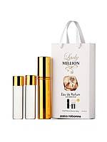 Мини-парфюм Paco Rabanne Lady Million (Пако Рабанн Леди Миллион), 3*15 мл