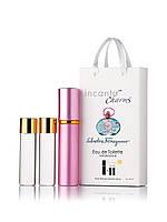 Мини-парфюм Salvatore Ferragamo Incanto Charms (Инканто Шармс Сальвадор Феррагамо), 3*15 мл