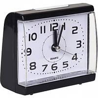 Настольные часы - будильник с кнопкой 8,5*7,5*4 см