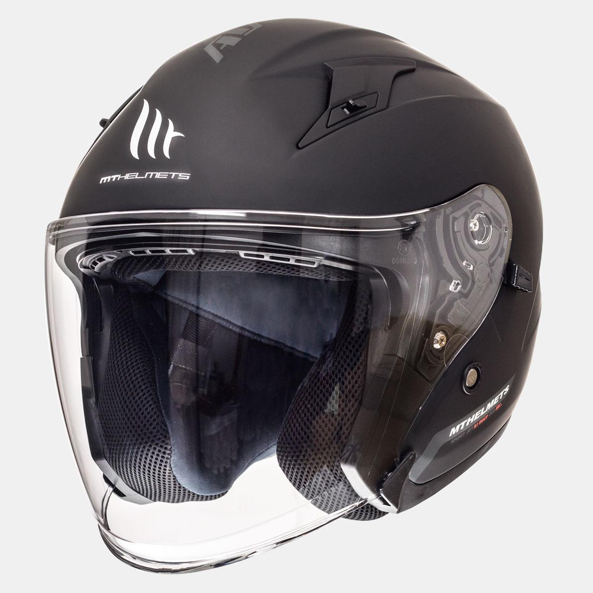 Шлем Mt Avenue черный мат р.M