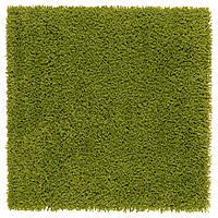 IKEA HAMPEN Ковер с длинным ворсом, ярко-зеленый  (502.037.88)