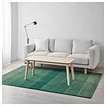 IKEA NODEBO Ковер с коротким ворсом, ручной работы, зеленый  (903.723.31), фото 4