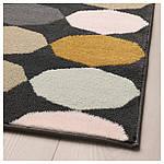 IKEA TORRILD Ковер с коротким ворсом, разноцветный  (303.908.61), фото 2