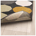 IKEA TORRILD Ковер с коротким ворсом, разноцветный  (303.908.61), фото 4