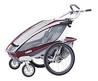 Детская коляска-прицеп для велосипеда Thule Chariot CX 2 (Burgundy)