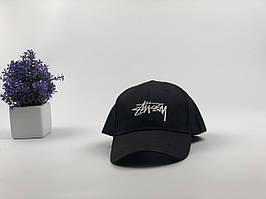 Кепка бейсболка Stussy (черный)