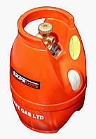 Газовый баллон безопасный 5 л, пропан, полимерный