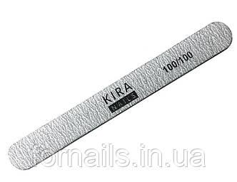 Пилочка Kira Nails эконом, прямая стандарт 100/100