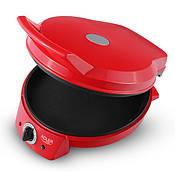 Аппарат для приготовления гриля и пиццы Adler AD 3033 Красный (gr006812)