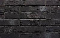 Клинкерная плитка Stroeher цвет 376 platinschwarz, серия STEINLINGE