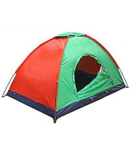 Палатка турстическая 4-местная, Влагозащищенное дно HY1100
