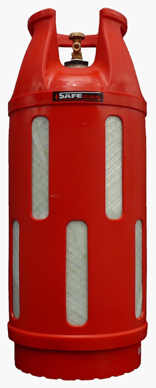 Баллон газовый 47л SAFEGAS композитный пропановый безопасный