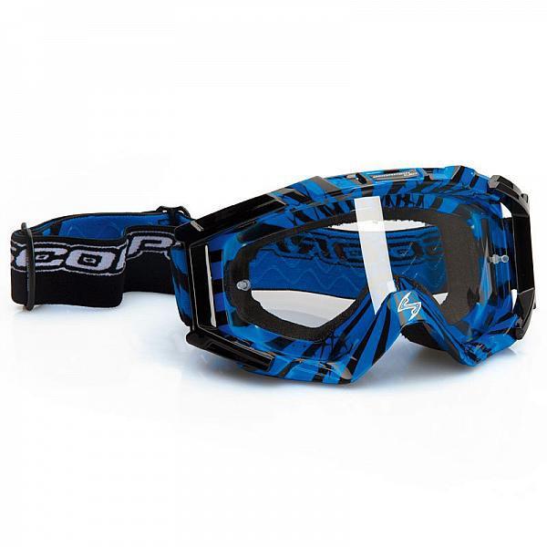 Очки Scorpion для кросса синие