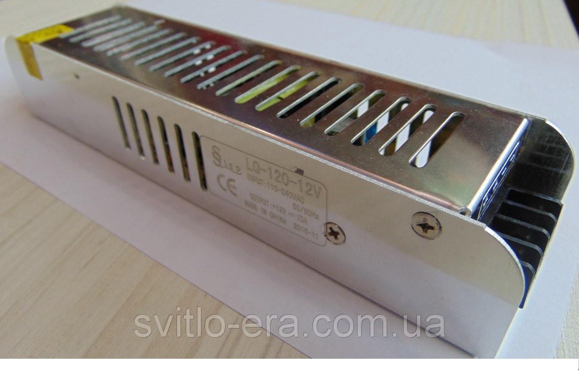 Блок питания QL-12В 120Вт IP33 Компакт