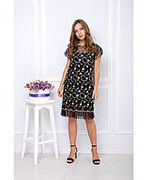 Платье Сабина,черный, фото 1