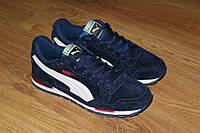 Мужские кроссовки Puma (синие), ТОП-реплика, фото 1