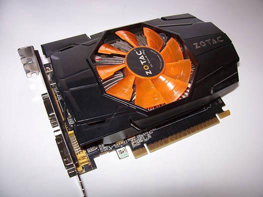 Zotac GeForce GTX650 1Gb DDR5  Полностью рабочая!