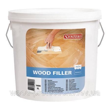 Шпаклівка для деревини Synteko Wood Filler (Сінтеко вуд філлер) 5л