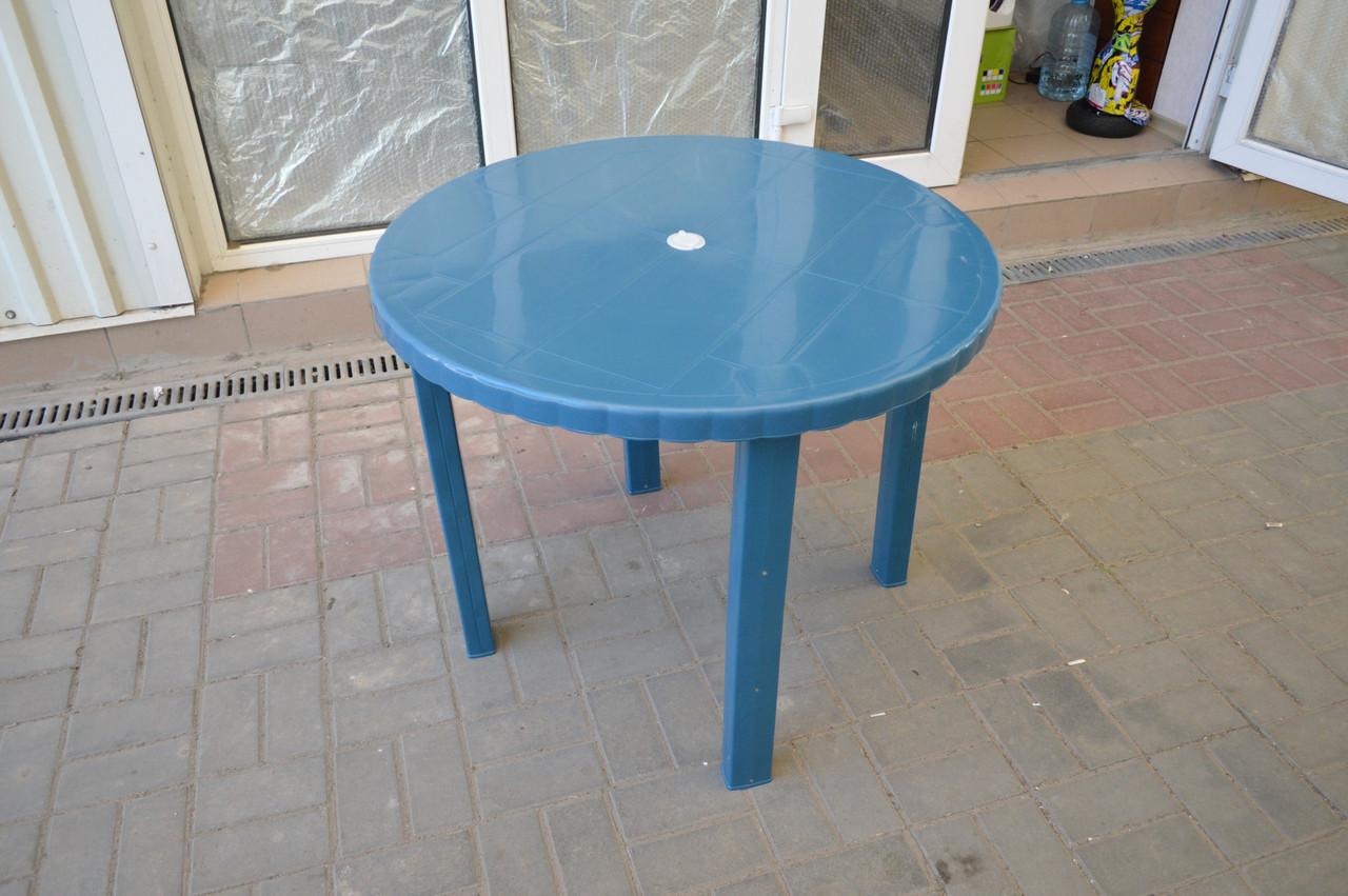 Стол пластиковый круглый, 88 см, базовый