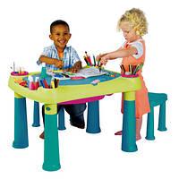 Детский Игровой Столик Keter c 2 Стульями, фото 1