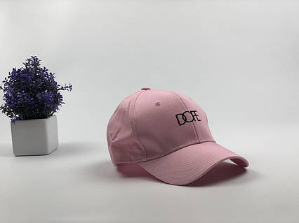 Кепка бейсболка Dope (розовая), фото 2