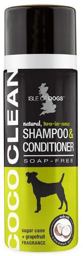 ШампуньCocoClean 2 in 1 Shampoo & Condition ISLE OF DOGSшампунь кондиционер 2в1