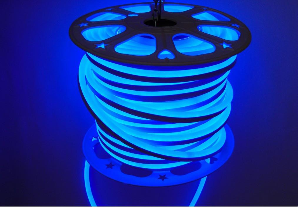 LED неон гибкий Dream light 220V IP68 синий - Интернет-магазин Svitlo-era.com.ua в Вышгороде