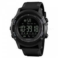 Спортивные умные часы Skmei Smart 1321 черные водостойкость 50 м , фото 1